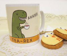 Tea Rex Mug - Perfect for Tea Drinkers :-)