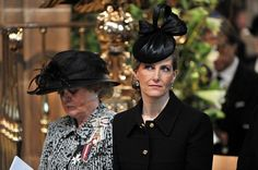Sophie, Countess of Wessex attends the reinterment service for King Richard lll