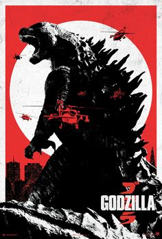 old godzilla film poster - Google Search