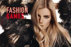 fashion games: anouk sanders by thanassis krikis for elle greece november 2014