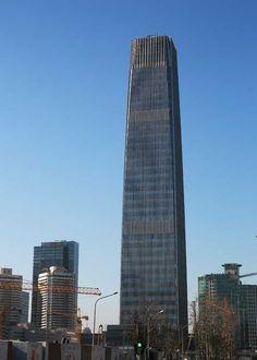 China World Trade Center III, Beijing, China. Built in 2010.