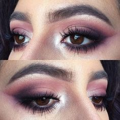 I'm feelin a snap tutorial today... nattyicee23 + here's anotha one because one eye always comes out more blended!  details: @thebalm_cosmetics Meet Matt(e)Trimony Palette // @lauramercier Highlight 01 to highlight // @benefitcosmetics Gimmie Brow # 1 // @smashboxcosmetics XRated Mascara