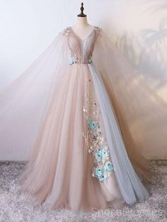 Tulle V Neck Long Ball Gown Evening Prom Dresses, Cheap Custom Sweet 16 Dresses,. - Tulle V Neck Long Ball Gown Evening Prom Dresses, Cheap Custom Sweet 16 Dresses, 18499 Source by cilenealba - Prom Dresses 2017, Cheap Prom Dresses, Quinceanera Dresses, Ball Dresses, Wedding Dresses, Cheap Outfits, Chiffon Dresses, Cheap Clothes, Bridesmaid Dresses