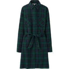 I know, Black Watch is such a cliche. But fully buttondown flannel shirtdress will be so warm and cozy.