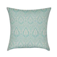 Loom and Mill Damask Decorative Throw Pillow Color: Seafoam
