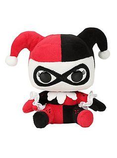 Funko DC Comics Harley Quinn Mopeez Plush,