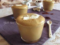 Mousse di Caffè con Spuma di Mascarpone fresca e sfiziosa , un dolce al cucchiaio