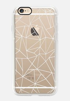 Casetify iPhone 7 Case and Other iPhone Covers - Abstraction Outline White…