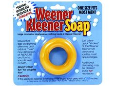 """One Of The Weirdest Things You Can Buy on Amazon! Really Folks - """"Weener Kleener Soap"""". That is just too darn funny."""