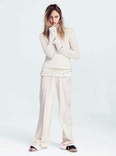 A Cut Above Sasha Pivovarova By Daniel Jackson For Uk Vogue July 2014 Womens Fashion Editorial | DeSmitten