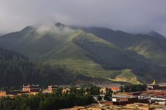 The monastery complex of Labrang, Tibet 2012
