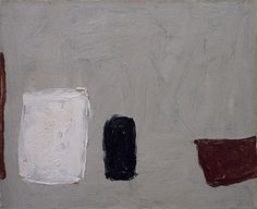 William Scott, Three Pots, Oil on canvas, × cm / × 16 in, Private collection Sean Scully, Modern Art, Contemporary Art, Italian Artist, Artist Art, Painting & Drawing, Still Life, Mono Print, Agnes Martin