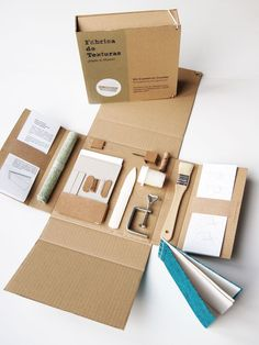 japanese bookbinding kit http://www.fabricadetexturas.bigcartel.com/product/cajita-encuadernacion-cosido: