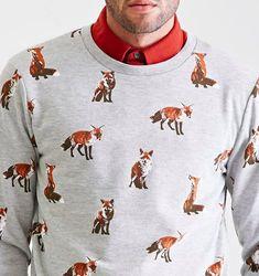 Fox Print Sweatshirt, $19.90. | 31 Foxy Additions To Your Spring Wadrobe