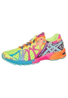 ASICS GEL-NOOSA TRI 9 - Competition running shoes - flash  yellow turquoise berry for with free delivery at Zalando 1c6f83d2418