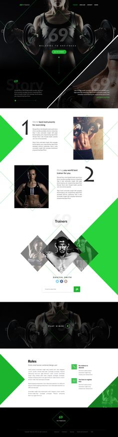 This is a smart landing page for 69Fitness. I applied someof my Crazy ideas to make it cooooll.. ;) ;)I think you guys will like This design.Thank you.