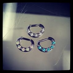 14g Septum Clickers from Industrial Strength!