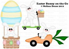 Easter Bunny on the Go RETIRING SOON
