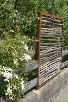 eisengestell f r sichtschutz brennholz in schaenis kaufen bei garten pinterest. Black Bedroom Furniture Sets. Home Design Ideas