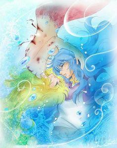 Tétis e Poseidon