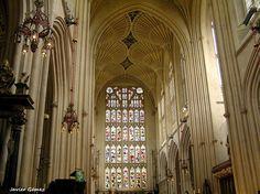 Interior de la Abadia de #Bath