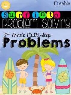 With school coming to an end don't allow your students to leave your classroom without mastering a very important skill...the dreaded two step word problems! This resource can be used to from 2nd to 4th grade. It can be used to enrich second graders, used to assess third graders (since it's a CCSS), and used as a reteach for fourth graders.