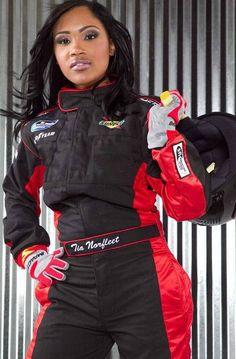 Tia Norfleet Tia Norfleet - First African American Female Professional Race Car Driver - NASCAR