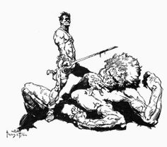 POST # 64 - FRANK FRAZETTA, The Living Legend - Part 2