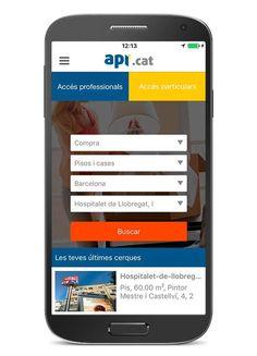 Api.cat - Venta alquiler pisos: captura de pantalla