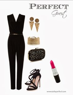Perfect Guest: Sophisticated Black Jumpsuit