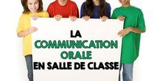 COMMUNICATION ORALE EN CLASSE