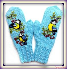 Fingerless Gloves Knitted, Knit Mittens, Craft Patterns, Fiber Art, Hand Embroidery, Knit Crochet, Projects To Try, Fashion Accessories, Knitting