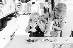 Kinderparade / Kidsparade - making your own food :)
