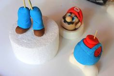 Mario tut for cakes but I think you can also use it for fimo