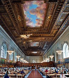 NYC Public Library. A must-see!!