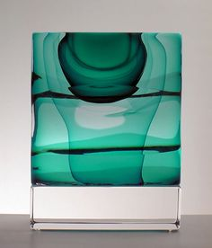 morgan contemporary glass gallery - Images for Christine Barney - Emerald