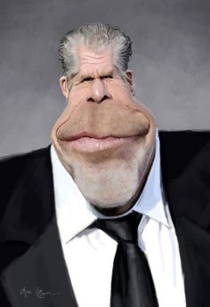 Ron-Perlman by Olle Magnusson