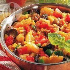 Rezeptbild: Argentinischer Rindfleischeintopf mit Kürbis und Trauben