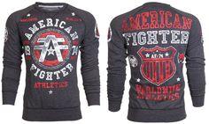 American Fighter AFFLICTION Mens Sweat Shirt DAVENPAINT Biker MMA UFC M-XXL $78 #Affliction #SweatshirtCrew