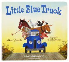 ''Little Blue Truck'' Book for Kids by Alice Schertle and Jill McElmurry | Bass Pro Shops // An absolute favorite book amongst the little ones! #childrensbook #boardbook #outdoorkids