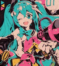 Vocaloid Characters, Fanarts Anime, Arte Sketchbook, Cute Icons, Animes Wallpapers, Cartoon Art, Cute Drawings, Aesthetic Anime, Cute Art