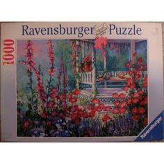 Ravensburger 1000 piece Jigsaw Puzzle, Gazebo / Pavillion Amongst Flowers Listing in the 1000 Pieces,Jigsaws,Jigsaws & Puzzles,Toys & Hobbies Category on eBid United States | 150342777