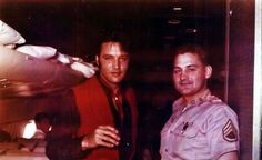 Elvis Presley on a plane from Hawaii to LA, June 2, 1968.