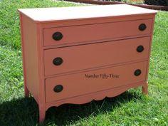 Number Fifty-Three: Vintage Coral Dresser