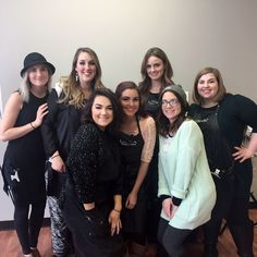 Salon in the Tower #educationdomination continues ! Today the team paired up with A&A Beauty and LANZA to take their skills to the next level!  #ladybosses #learning #educationiskey #neverstoplearning
