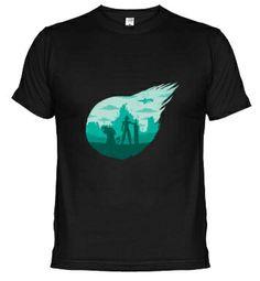 Camiseta FFVII meteorito