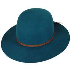 d18d1567cdd Brixton Hats Sol Wool Felt Open Crown Hat Fedoras
