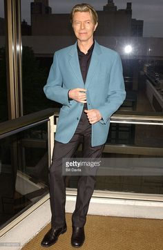 David Bowie during The Film Society of Lincoln Center Honors Susan Sarandon at Avery Fisher Hall in New York City, New York, United States.