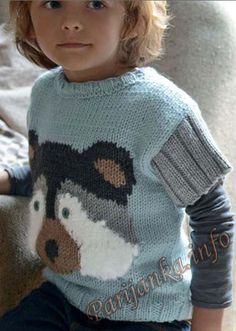 Пуловер (д) 01*101 Phildar №3843