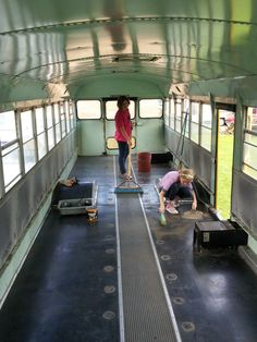 Our Bus, Our Home - School Bus Conversion Resources